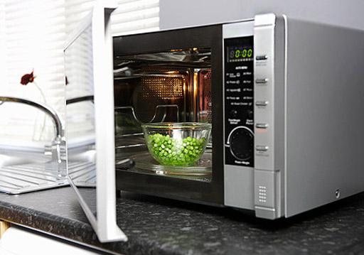 verduras microondas