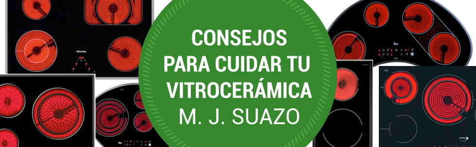Consejos para cuidar vitrocerámica