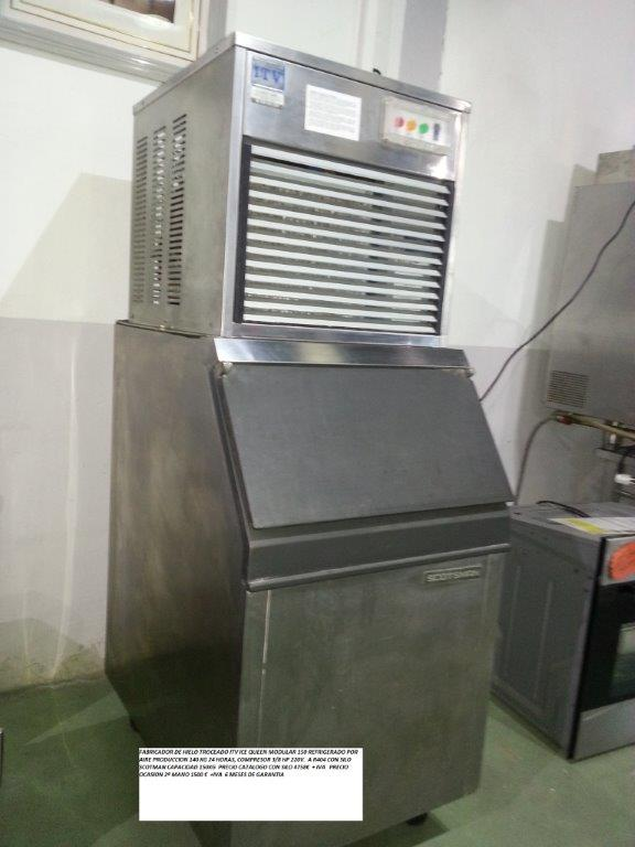 Fabricador de hielo troceado