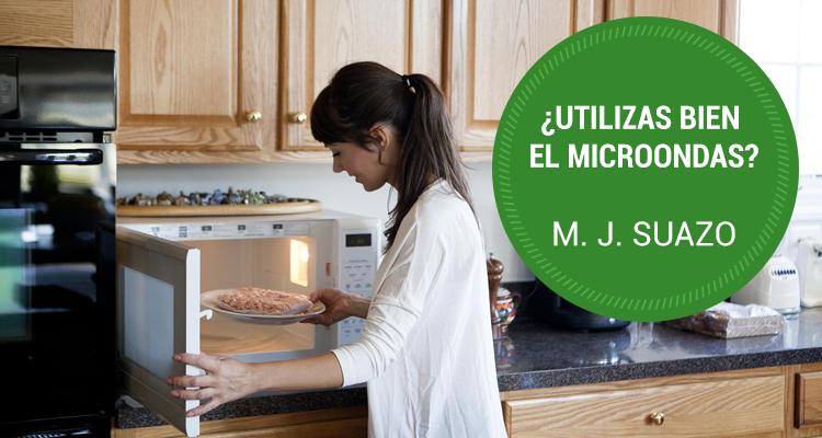 ¿Utilizas bien el microondas?