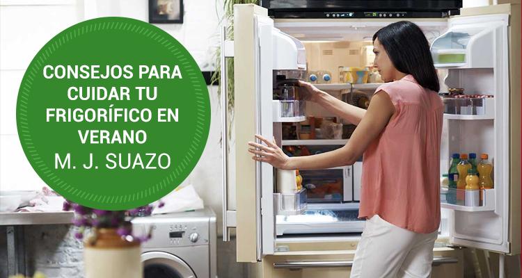 Consejos para cuidar tu frigorífico en verano